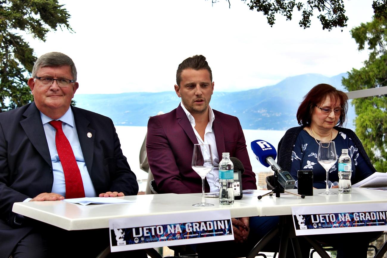 Saznajte što Su Rekli Gradonačelnik Vojko Obersnel,  Ines Boban Štiglić Iz TZ I Vedran Babić Organizator O Programu Na Gradini