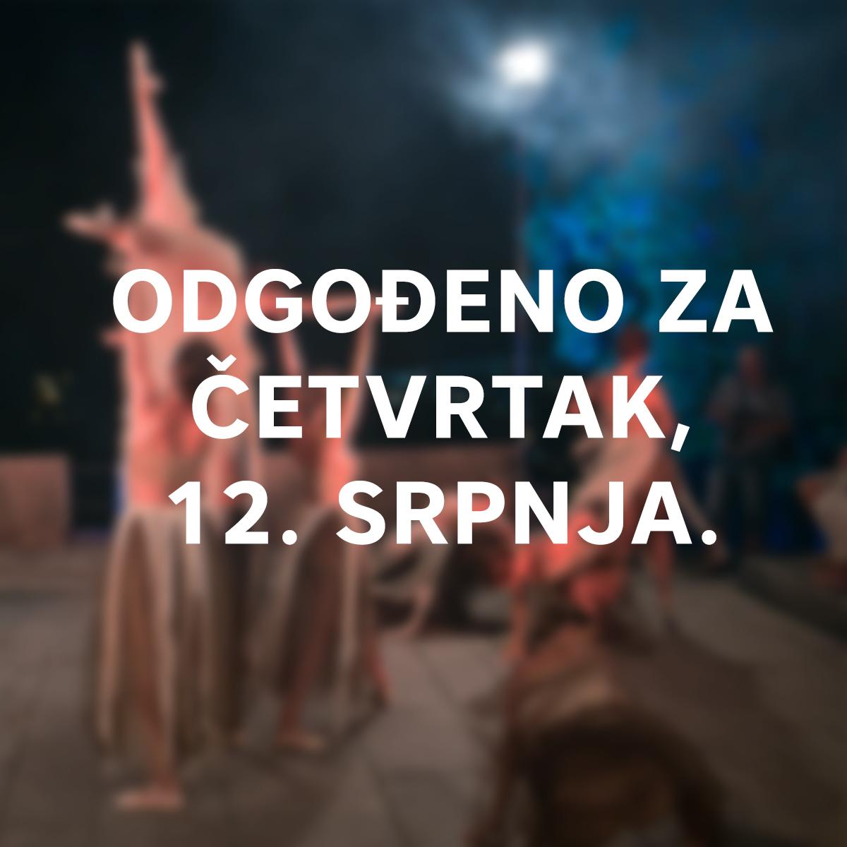Gradina Dance Art Održat će Se U četvrtak, 12. Srpnja.