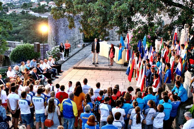 Svečanim Otvorenjem Na Trsatskoj Gradini Počelo EP U Skokovima U Vodu Za Juniore