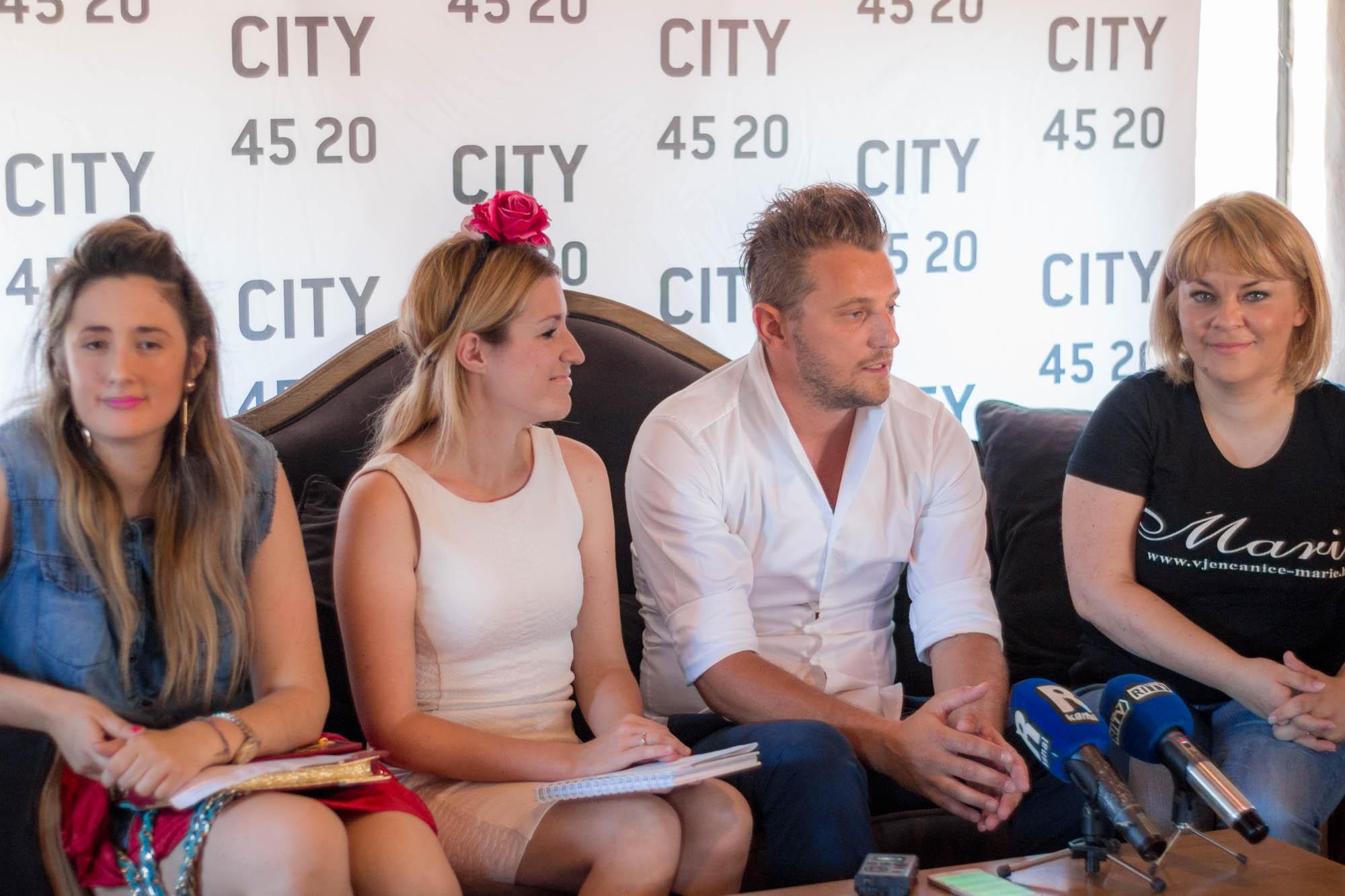 Danas Je Održana Konferencija Za Medije: CITY 45 20 Powered By Womanary