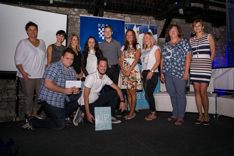 Tim Radio Korza Osvojio Gradinu Znanja Na Poduzetničkom Natjecanju Visoke Poslovne škole Par